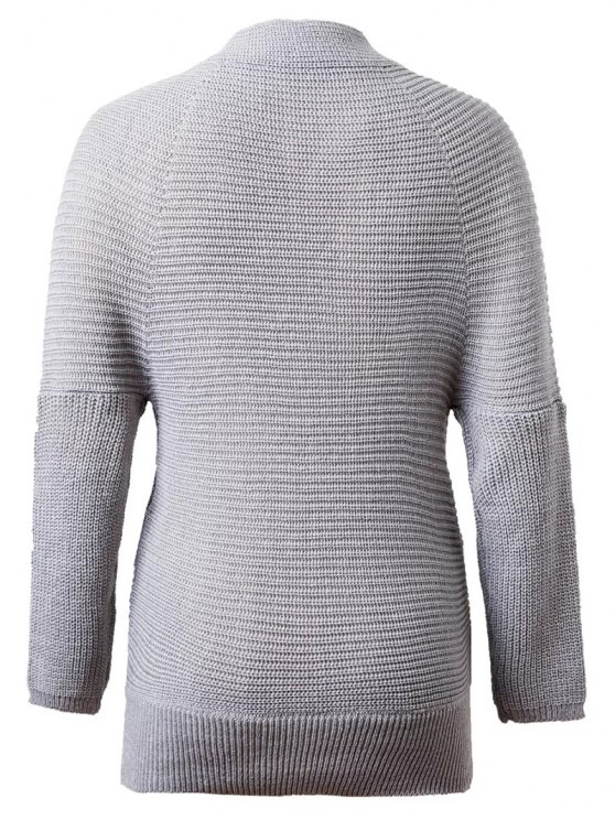 Crossover Sweater - GRAY ONE SIZE Mobile