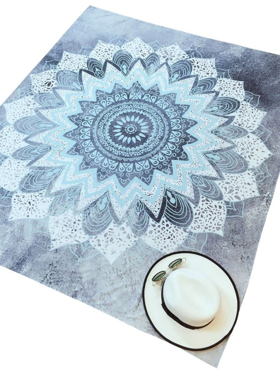 Yoga Mat Beach Throw - COLORMIX M Mobile