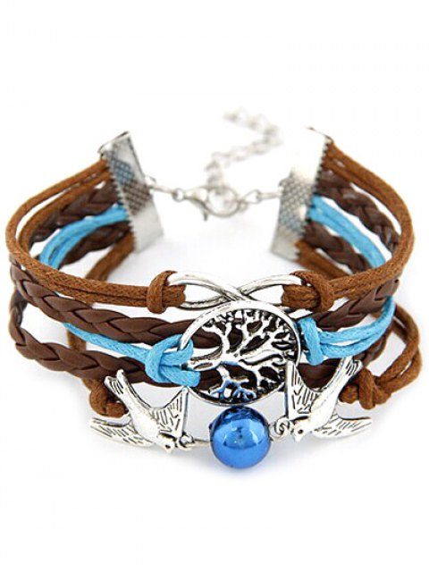 shops Peace Dove Braid Bracelet -   Mobile