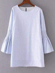 Image result for light blue long sleeve tshirt dress