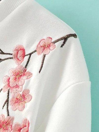 Titoni Embroidered Sweatshirt - BLACK M Mobile