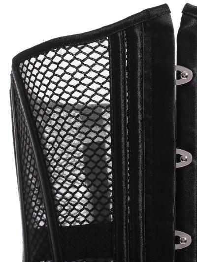 Mesh Shapewear and T-Back - BLACK M Mobile