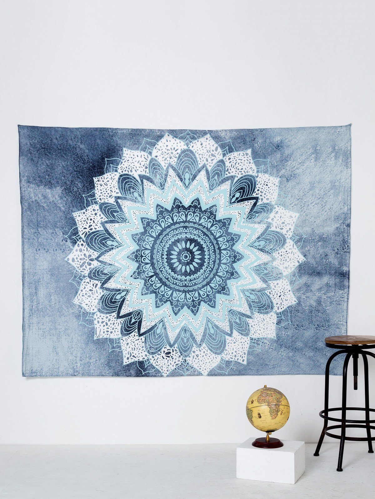 Boho Yoga Mat Throw Tapestry Beach Throw