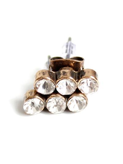 Rhinestones Stud Earrings