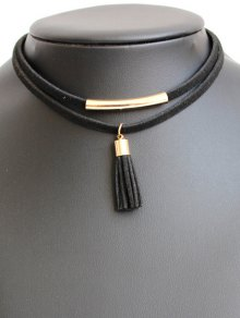 Tassel Choker Necklace