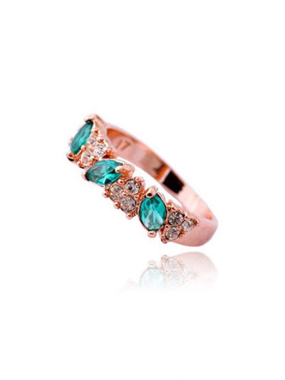 fancy Rhinestone Ring - ROSE GOLD ONE-SIZE