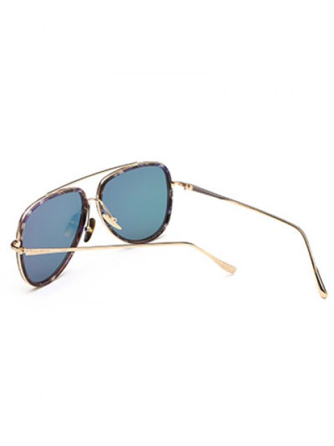 chic Fleck Pilot Sunglasses - ROSE RED  Mobile