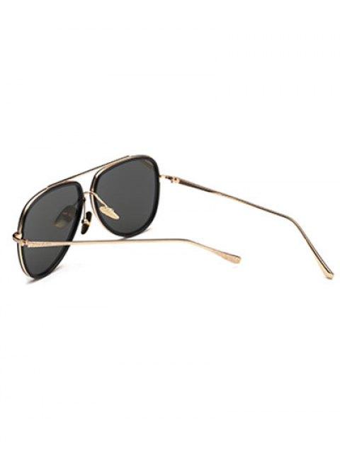 sale Mirrored Pilot Sunglasses - SILVER  Mobile