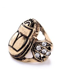 Insect Rhinestone Ring