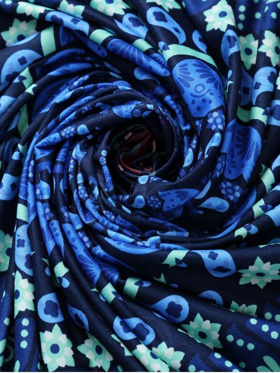 Throw Tapestry Beach Throw - BLUE M Mobile