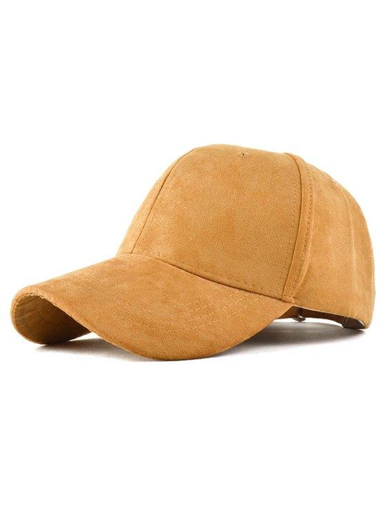 buy Graffiti Faux Suede Baseball Hat - CAMEL