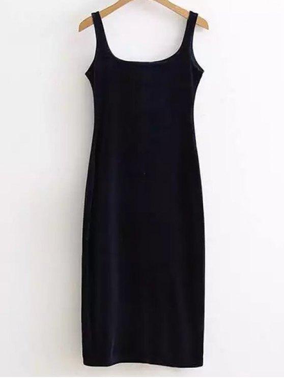 robe en velours bleu violet lingerie taille moyenne zaful. Black Bedroom Furniture Sets. Home Design Ideas
