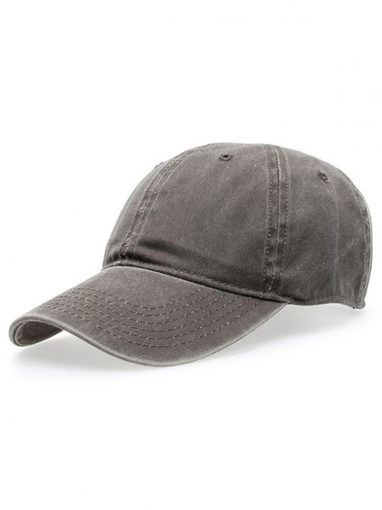 online Water Wash Do Old Baseball Hat - GRAY