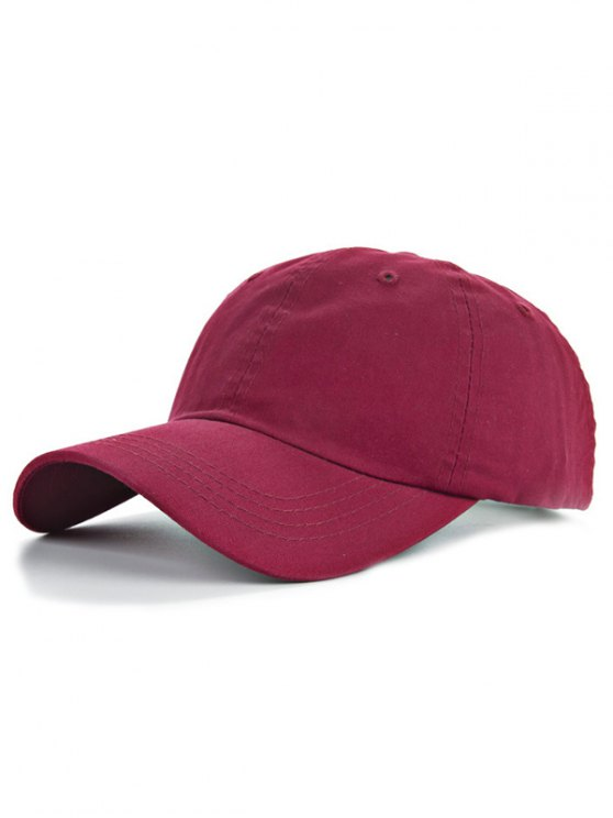 outfit Outdoor Sport Lovers Baseball Hat - CLARET
