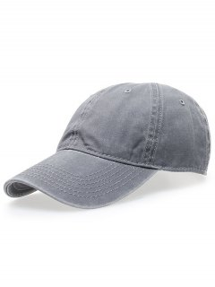 قبعة التنس الكلاسيكية لغسل - رمادي فاتح
