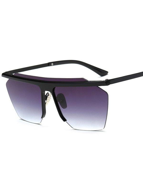 Cut Out Square Sunglasses