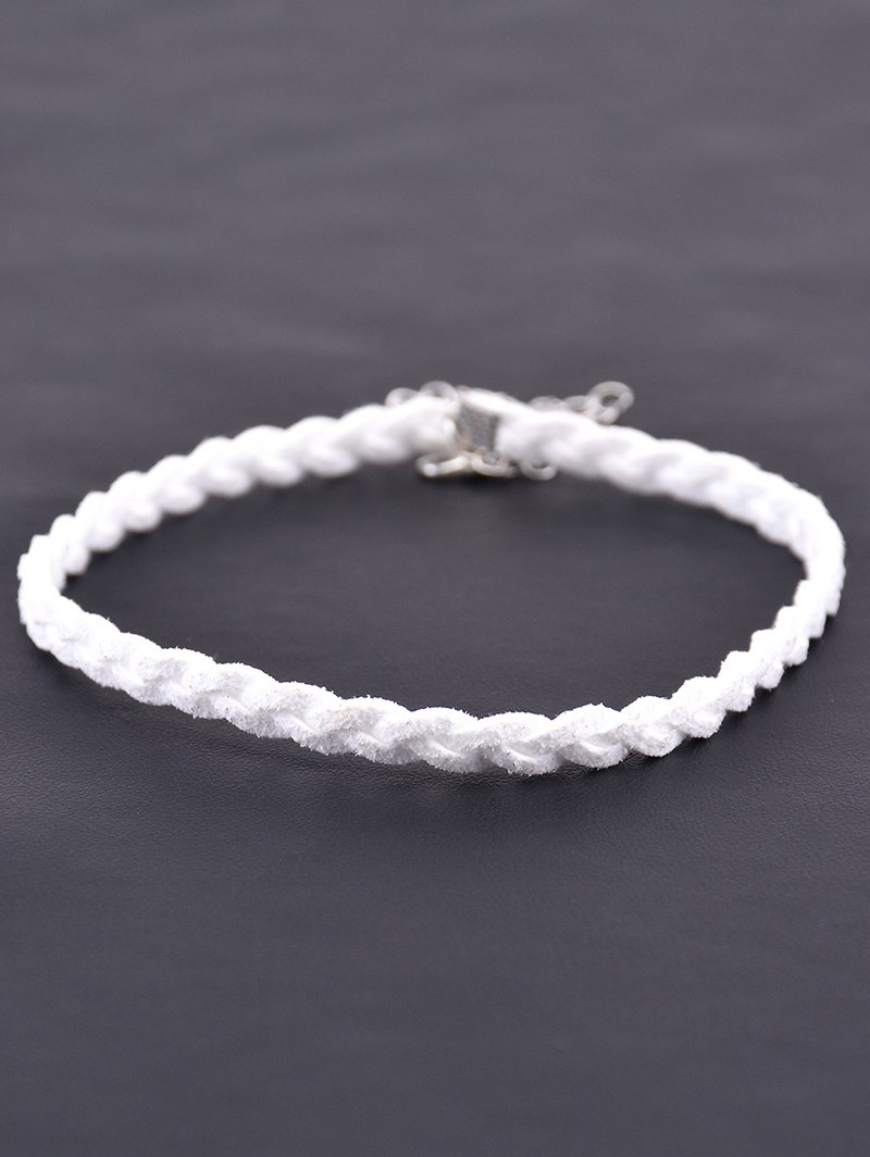 Faux Leather Woven Rope Choker