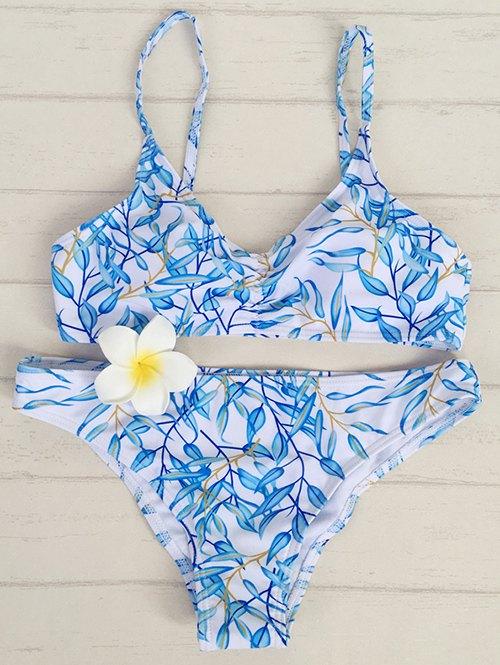 Leaf Pint Padded Bikini