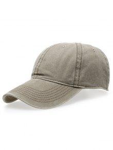 قبعة التنس الكلاسيكية لغسل - ضوء كاكي