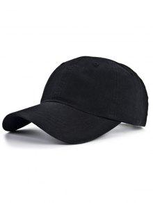 في الهواء الطلق عشاق الرياضة قبعة البيسبول - أسود