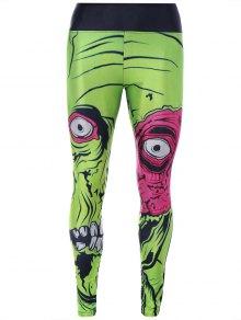Monster Print Sporty Leggings