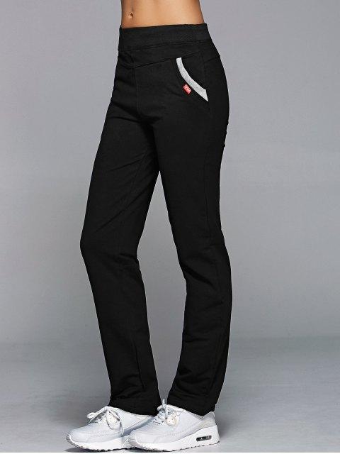 unique Jogging Pants With Pockets - BLACK XL Mobile