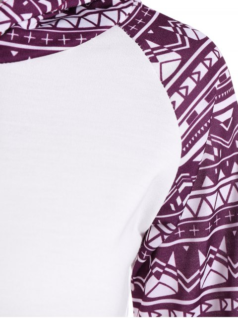 latest Big Pocket Pullover Printed Hoodie - WHITE XL Mobile