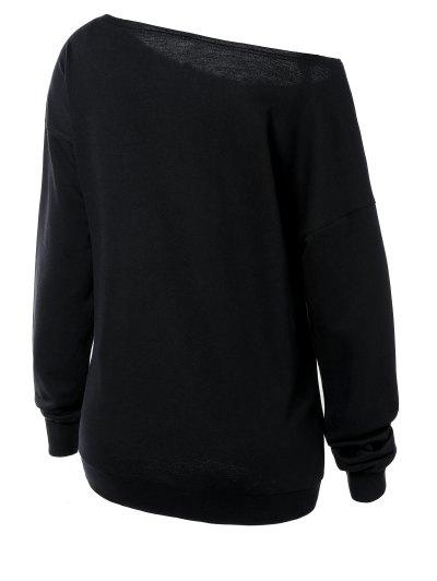 Witches Halloween Sweatshirt - BLACK L Mobile