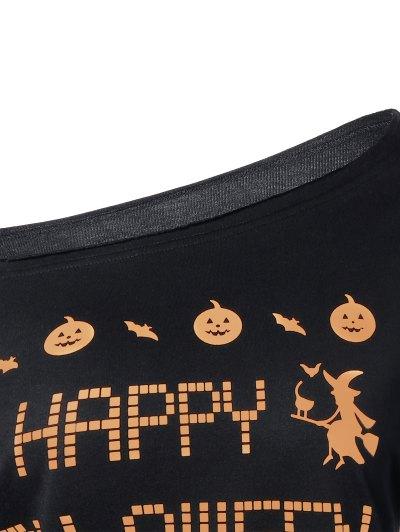 Witches Halloween Sweatshirt - BLACK S Mobile