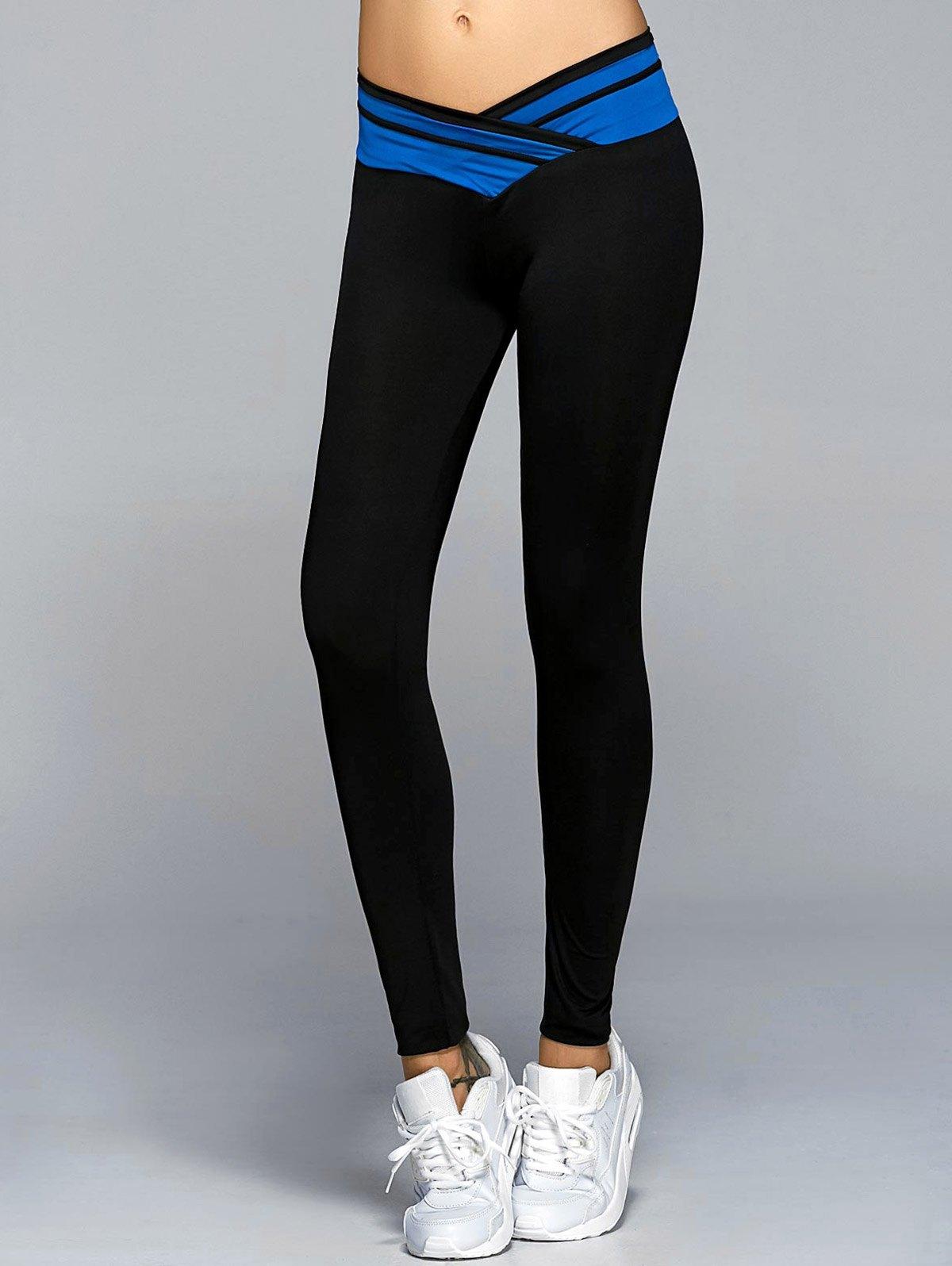 High Waisted Pannel Yoga Leggings