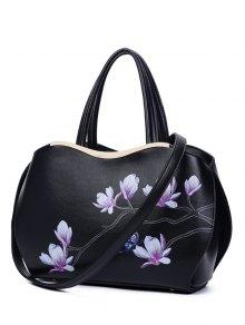 Metal Magnolia Print Tote Bag