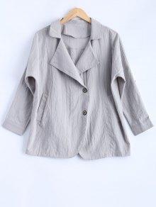 de la solapa de la chaqueta