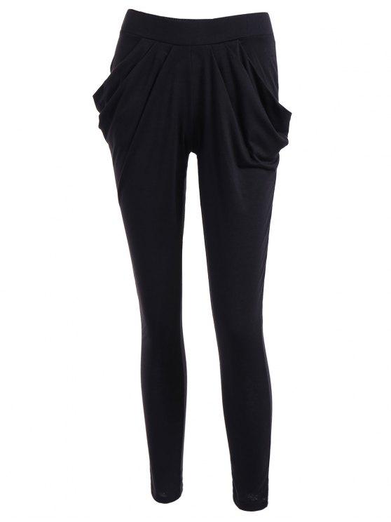 new Work Harem Pants - BLACK L