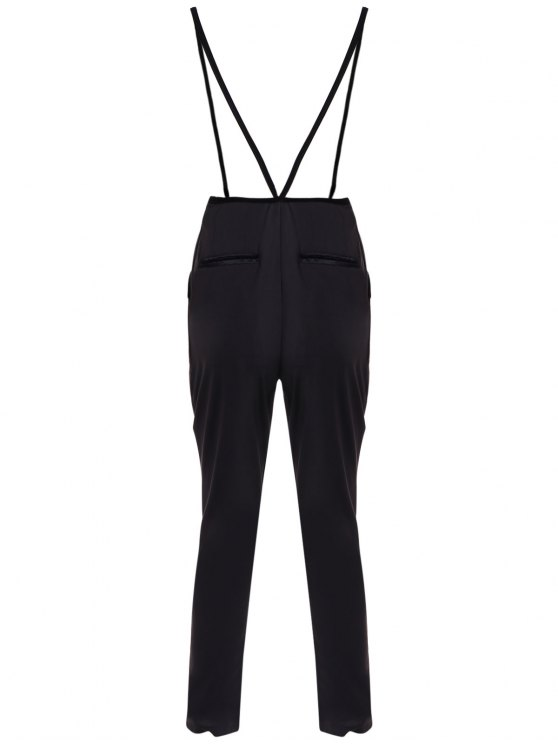 Black High Waisted Pencil Pants - BLACK XL Mobile