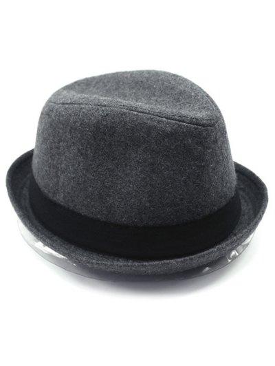 Vintage Embellished Flanging Wool Fedora Hat от Zaful.com INT