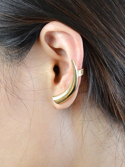 ONE PIECE Alloy Horn Ear Cuff