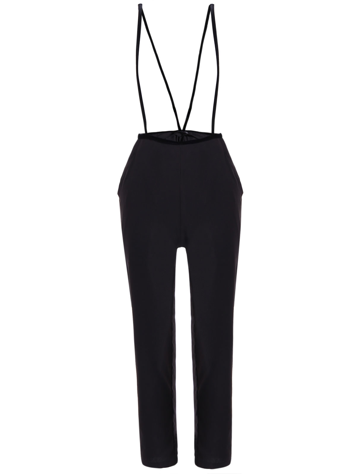 OL High Waisted Black Pencil Pants