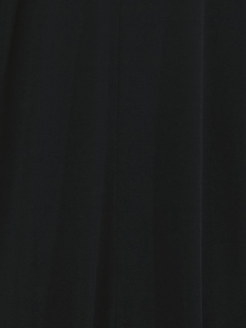 buy Hooded Maxi Long Duster Cardigan - BLACK M Mobile