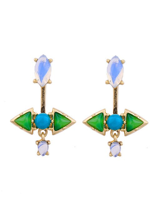 Faux Gem Ear Jackets