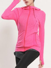 Manteau Rapide Dry Sporty Hooded - Rose