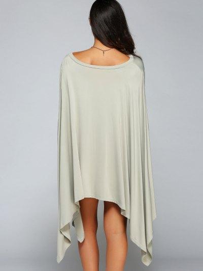 Loose Asymmetric One-Shoulder Bat-Wing Sleeve Dress от Zaful.com INT