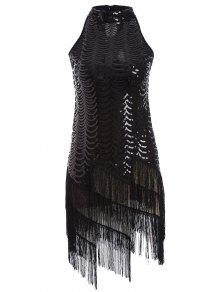 Tassels Sequins Party Dress
