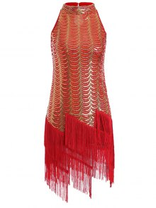 Tassels Sequins Party Dress