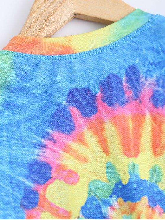 Colorful Crop Top - COLORMIX M Mobile