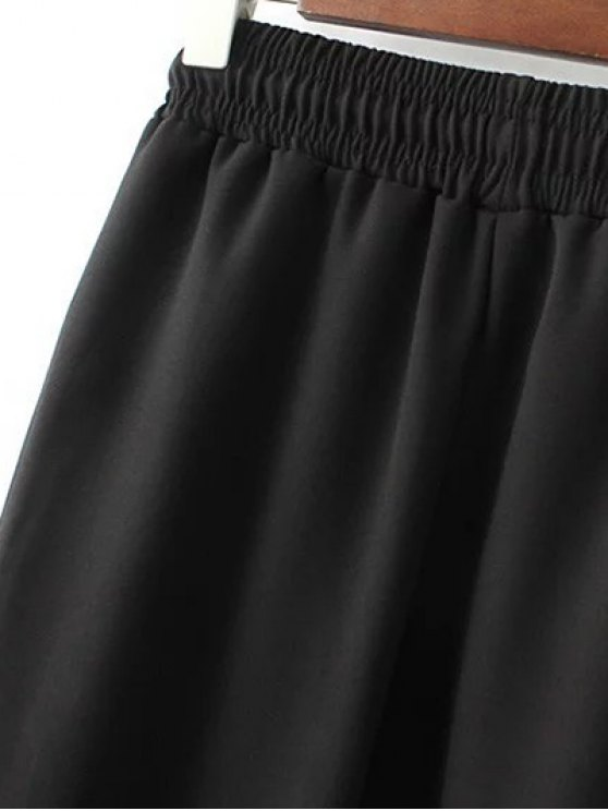 Drawstring Design Jogging Pants - BLACK M Mobile