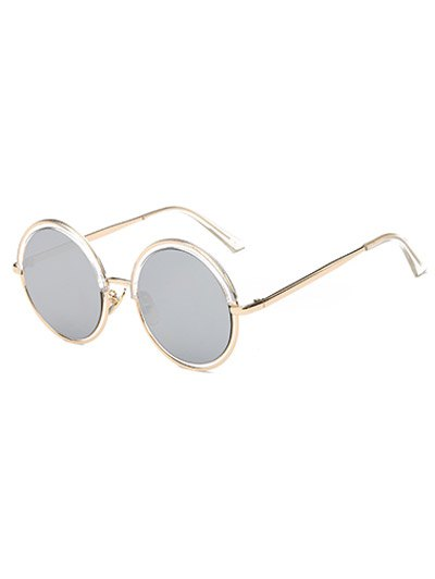 Metal Leg Round Sunglasses
