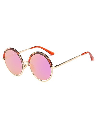 Aquatic Plant Frame Round Sunglasses