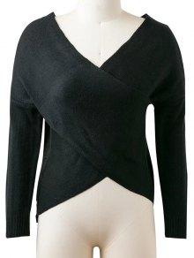 Drop Shoulder Reversible Sweater