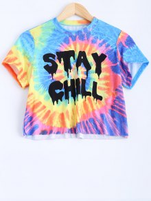 Colorful Crop Top - M