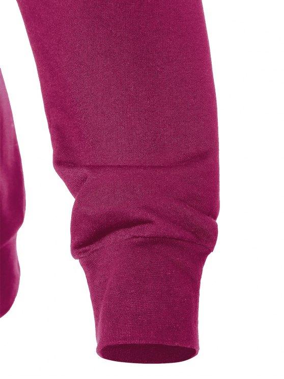 Witches Halloween Sweatshirt - PURPLISH RED XL Mobile